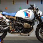 Custom BMW RnineT Urban G/S - The Dakar Rally Version 2