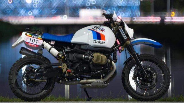Custom BMW RnineT Urban G/S - The Dakar Rally Version 1