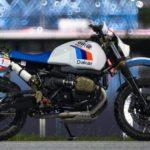 Custom BMW RnineT Urban G/S - The Dakar Rally Version 7