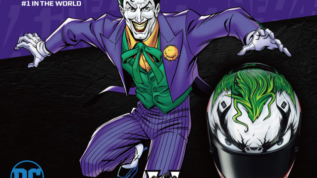 Put a big smile on your face, pick the Joker helmet 1