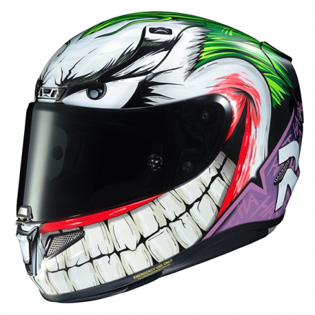 Put a big smile on your face, pick the Joker helmet 15