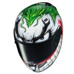 Put a big smile on your face, pick the Joker helmet 9