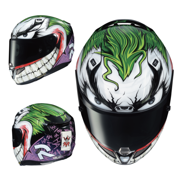 Put a big smile on your face, pick the Joker helmet 18