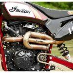Indian FTR750 Converted Into a Hillclimb Bike 11