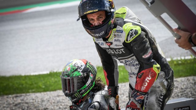 """Rossi & Vinales Escape High-Speed MotoGP Crash - """"Yes, it was… very, very scary"""" 17"""