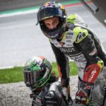 """Rossi & Vinales Escape High-Speed MotoGP Crash - """"Yes, it was… very, very scary"""" 11"""