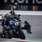"""Rossi & Vinales Escape High-Speed MotoGP Crash - """"Yes, it was… very, very scary"""" 6"""