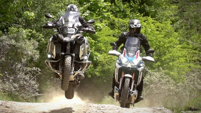 BMW R1250GSA vs. Honda Africa Twin 3