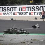 """Rossi & Vinales Escape High-Speed MotoGP Crash - """"Yes, it was… very, very scary"""" 7"""