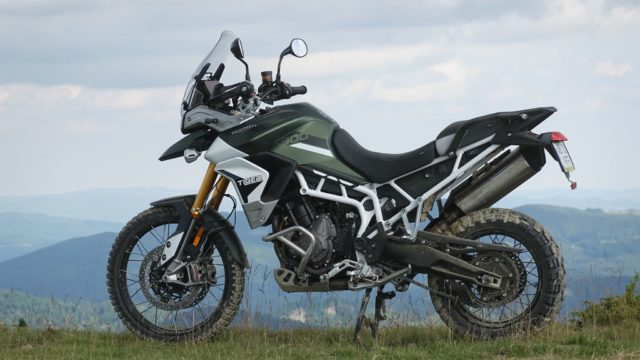 2020 Triumph Tiger 900 Rally Pro. On-Road and Off-Road Review 8
