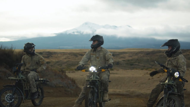 Electric Motorcycles Will Be Used in the Military Force 1