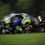 """Rossi & Vinales Escape High-Speed MotoGP Crash - """"Yes, it was… very, very scary"""" 2"""