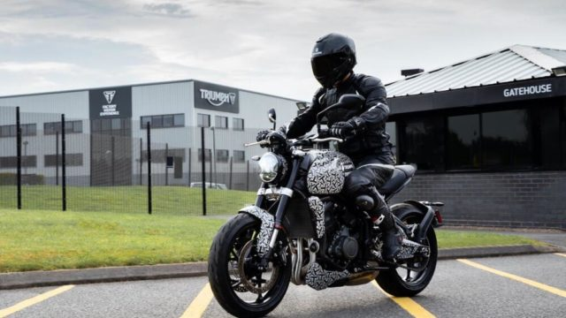 2021 Triumph Trident Closer to Production - Incoming Yamaha MT-07 Rival 64