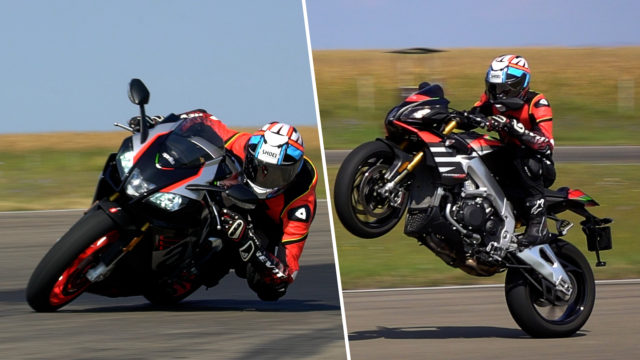 Aprilia Tuono V4 vs. RSV4 RR Review: Which one for the same money? 28