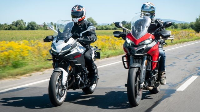 BMW F900XR vs. Ducati Multistrada 950S 48
