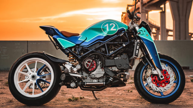 Turbocharged Ducati Monster S4R. a Different type of Beast 1