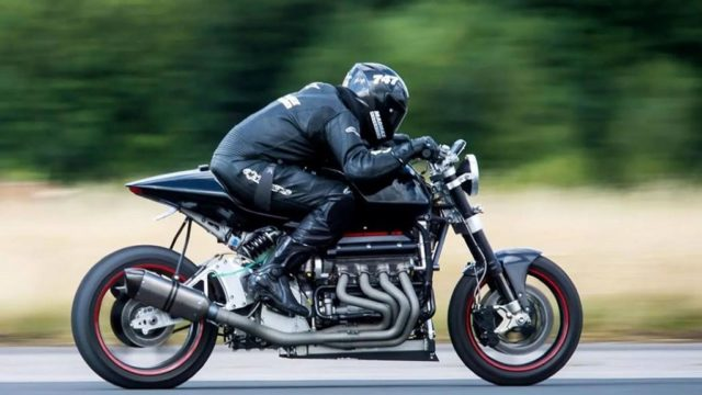 Insane Eisenberg V8 Bike Delivers 500 HP - It's Road Legal 56