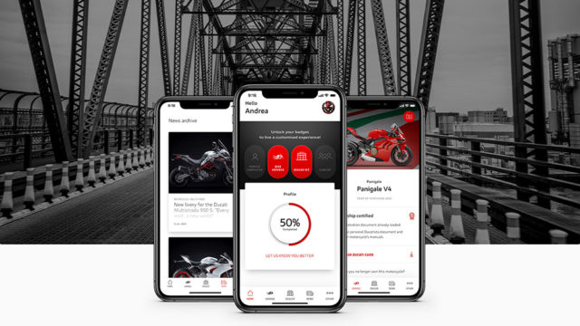 MyDucati App Breaks Cover 6