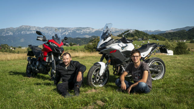 BMW F900XR vs. Ducati Multistrada 950S 2