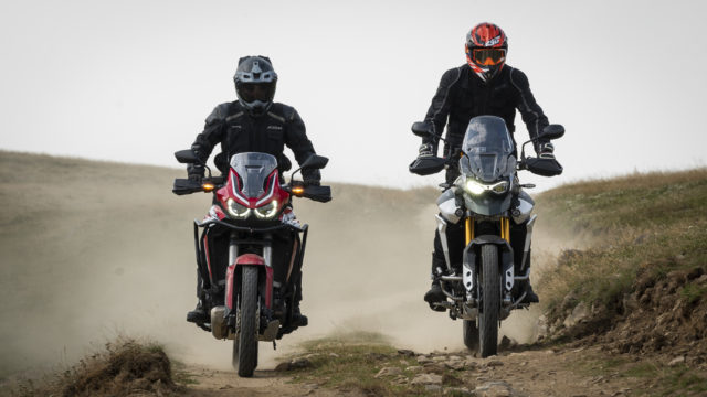 2020 Honda Africa Twin vs. Triumph Tiger 900 1