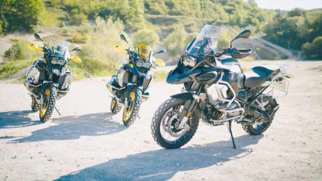This is the 2021 BMW R1250GS/GSA: Adaptive Headlight, Heated Seat, New Color 3