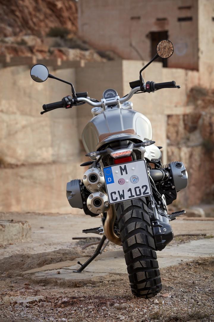 BMW R nineT Scrambler revealed 8