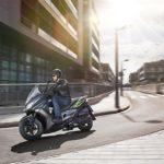 Kawasaki J125. A new scooter in the Kawasaki lineup 10