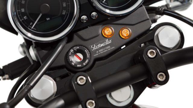 Moto Guzzi V7 II Stornello. The Guzzi Scrambler 2