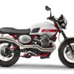 Moto Guzzi V7 II Stornello. The Guzzi Scrambler 3