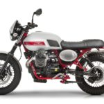 Moto Guzzi V7 II Stornello. The Guzzi Scrambler 4
