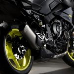 Yamaha MT-10. R1 derived street-fighter - tech specs and photo gallery 12