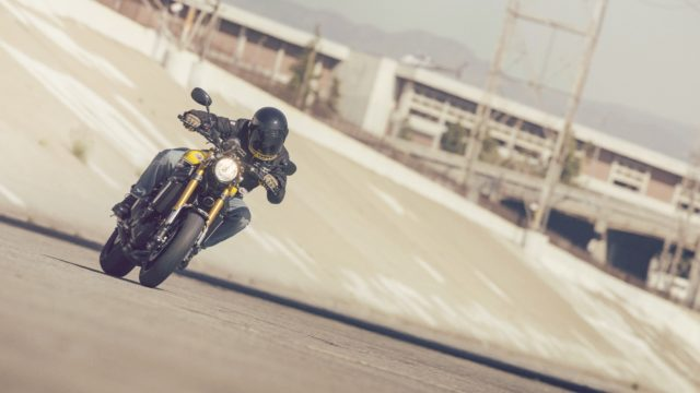 "Yamaha XSR 900. A ""retro-modern"" MT-09 1"
