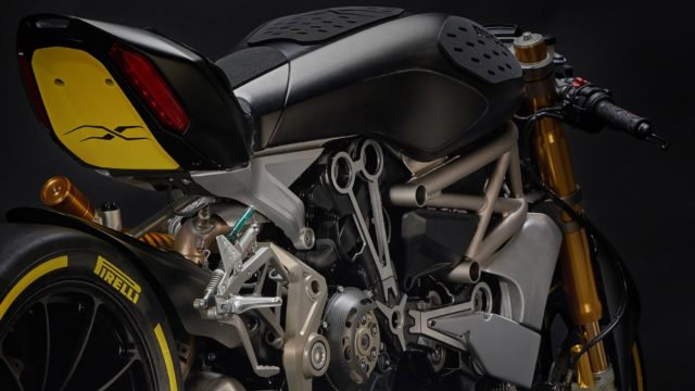 Ducati draXter Concept: Italian Cruiser Goes Extreme 1