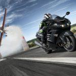 Kawasaki ZZR 1400 updated for 2016. Euro 4 compliant thrill seeker 6