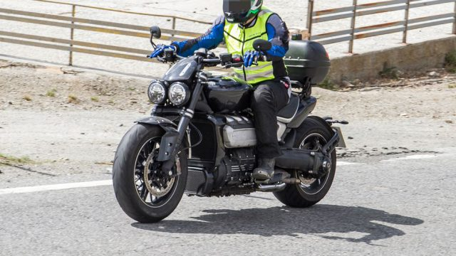 2020 Triumph Rocket III Reportedly Lighter and More Poweful 5
