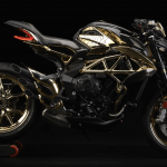 MV Agusta Reveals One-off Dragster RC Shining Gold 9
