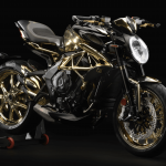 MV Agusta Reveals One-off Dragster RC Shining Gold 7