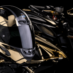 MV Agusta Reveals One-off Dragster RC Shining Gold 8