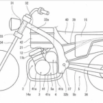 Kawasaki Patents an Electric/Gas Hybrid Bike 3