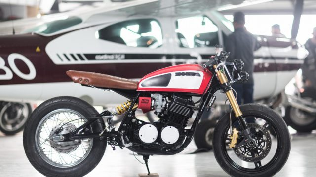 Honda CB750 1978 Custom by Andrew Wales 1