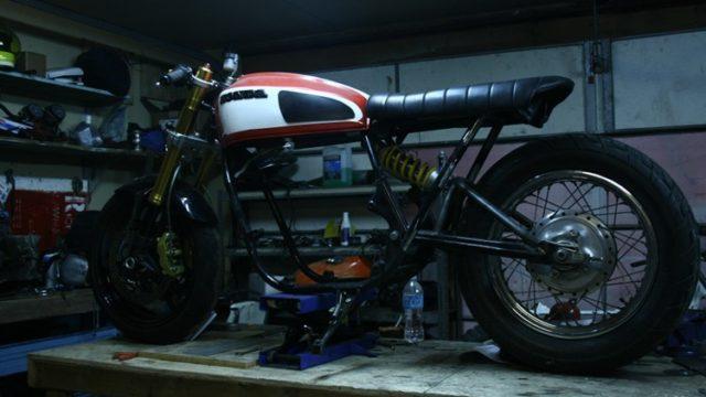 Honda CB750 Monoshock 5