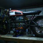 Honda CB750 1978 Custom by Andrew Wales 9