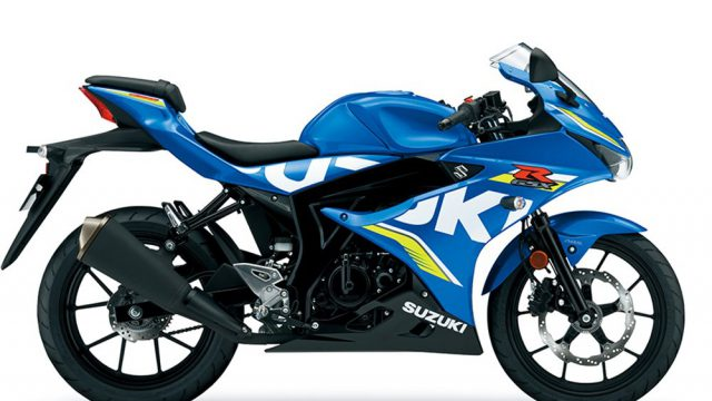 Brand New Suzuki GSX-R125 Revealed at Intermot 6