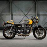 The New Triumph T100 Bonneville Revealed at Intermot 7