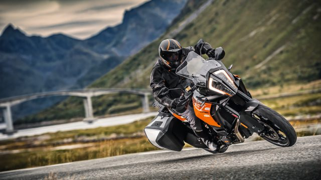 1290 Super Adventure gets Cyborg-Eye. KTM Travel Range Updated 2