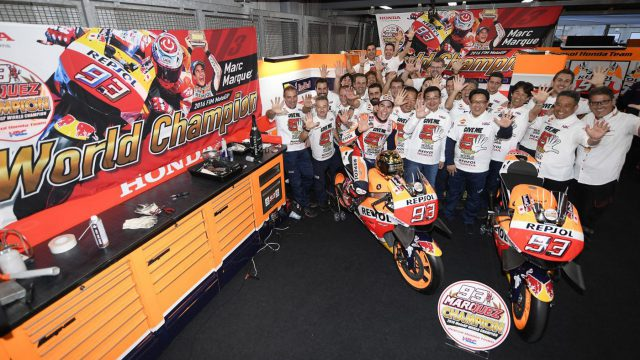 Marc Marquez Secured His Fifth World Tittle at Twin Ring Motegi This Weekend 1