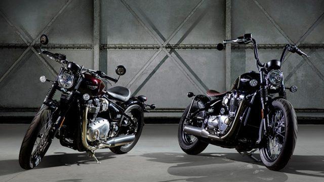 Triumph Bonneville Bobber. Let's Get Back to the 40s 3