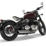 Triumph Bonneville Bobber. Let's Get Back to the 40s 7