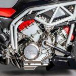Here's a V6 2,5 L MAD Street-bike. FGR Midalu 2500 V6 5