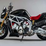 Here's a V6 2,5 L MAD Street-bike. FGR Midalu 2500 V6 12